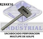 Brocas perforación múltiple